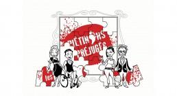 visuel du puzzle avec les personnages issus de la campagne piétinons les préjugés développée par l'agence E&H LAB
