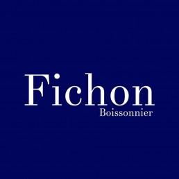 logotype du restaurant Fichon paris en version texte
