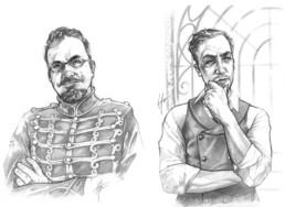 Portraits de contributeurs pour JDR Crimes Paris