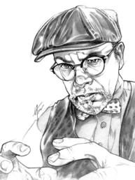 Portrait de Frank Brison, auteur du scénario Aube de sang pour JDR Crimes Paris
