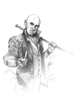 Portrait de Jérémie Rueff, Jermys, éditeur du JDR Crimes Sycko éditions