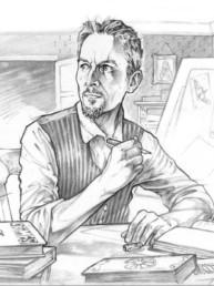 Portrait de Yann Lefebvre, créateur du JDR Crimes Les écuries d'Augias